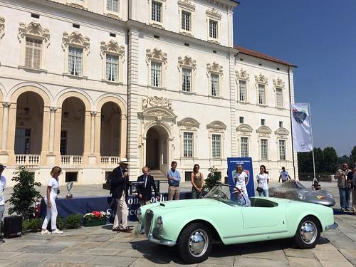 concorso di eleganza Lancia Aurelia B24