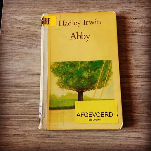 Een boek dat even oud is als ikzelf. #verbeeldingbookchallenge