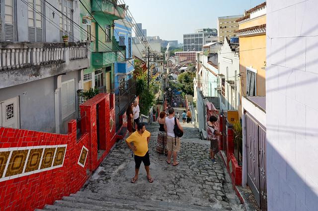 Calles de Rio de Janeiro donde hay que extremar la seguridad