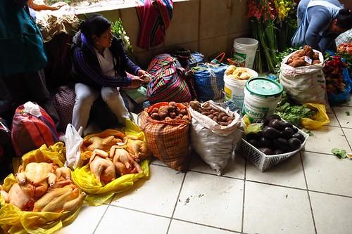 Machu Picchu market