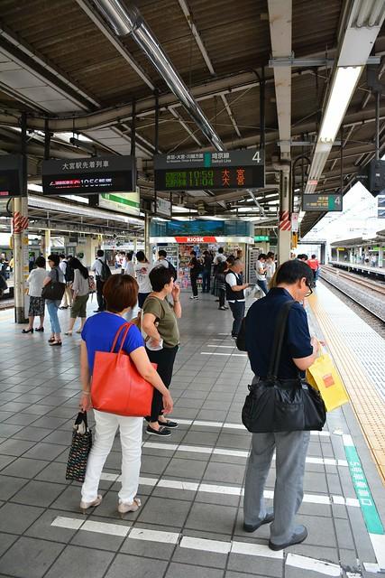池袋駅埼京線ホーム