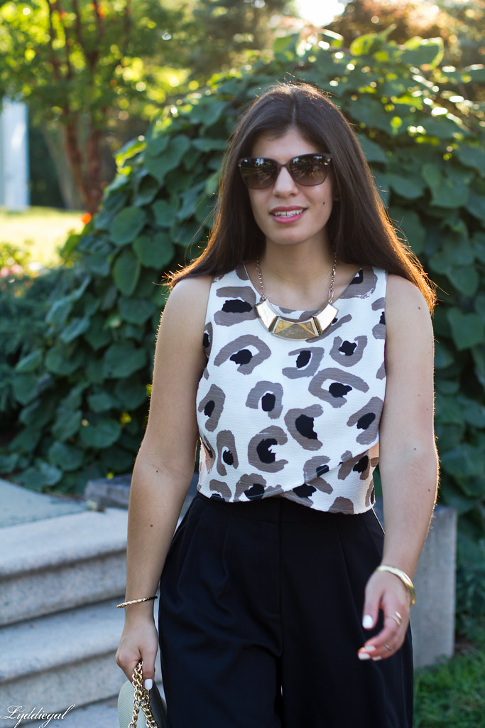 black culottes, leopard crop top, platform sandals-10.jpg