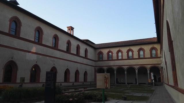 Corte Ducale im Castello Sforzesco