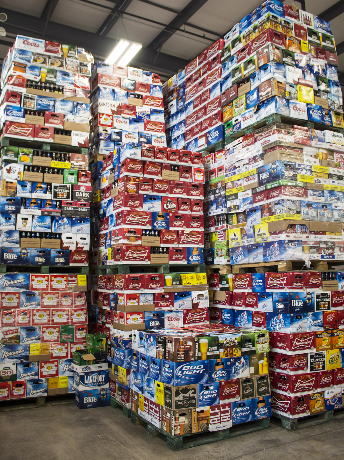 Most popular beers in Manitoba