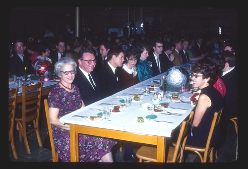 1968 College Banquet- Mrs. Hoatson & Strubhars