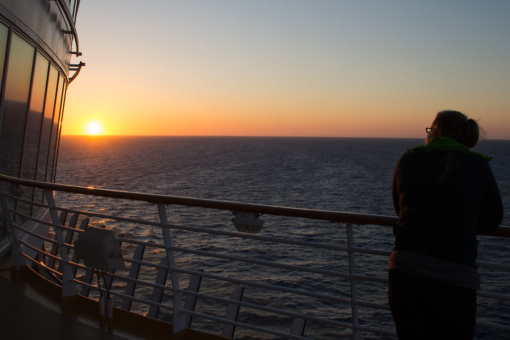 auringonlasku, Allure of the Seas