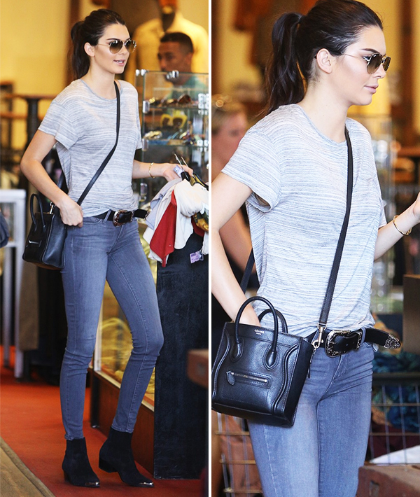 Kendall Jenner Shopping At Wasteland In Los Angeles