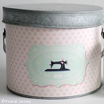 Tilda Sewing Tin