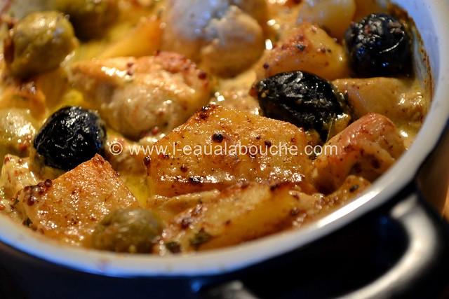 Blanc de Poulet à la Dijonnaise & Deux Olives © Ana Luthi Tous droits réservés  013