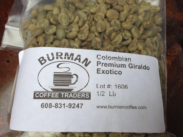 Colombian Premium Giraldo Exotico
