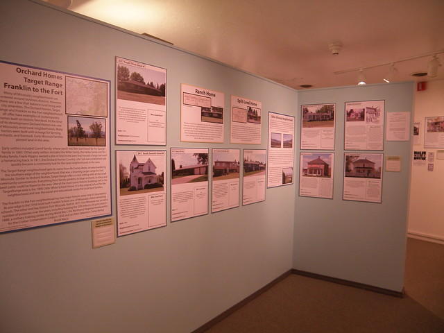 Missoula Neighborhoods Exhibit
