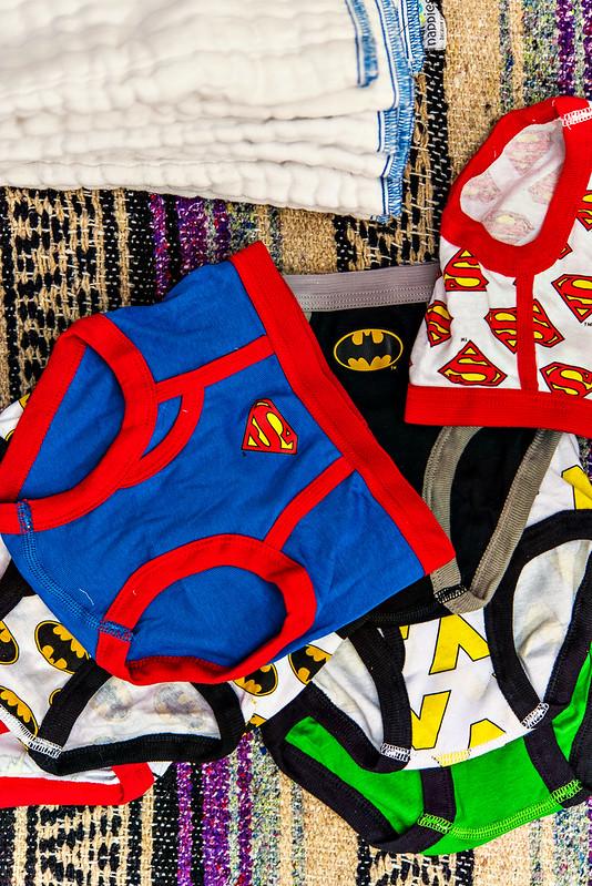 DIY cloth potty training underwear #zepsocialstars