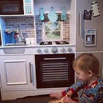 Chef @bartlekid explores his new kitchen. He's making pizza for the whole family! by bartlewife