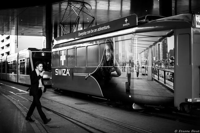 Gare de Tramway, Bâle, Suisse