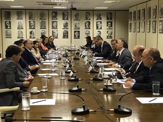 Deputados reúnem-se com Meirelles sobre Reforma da Previdência