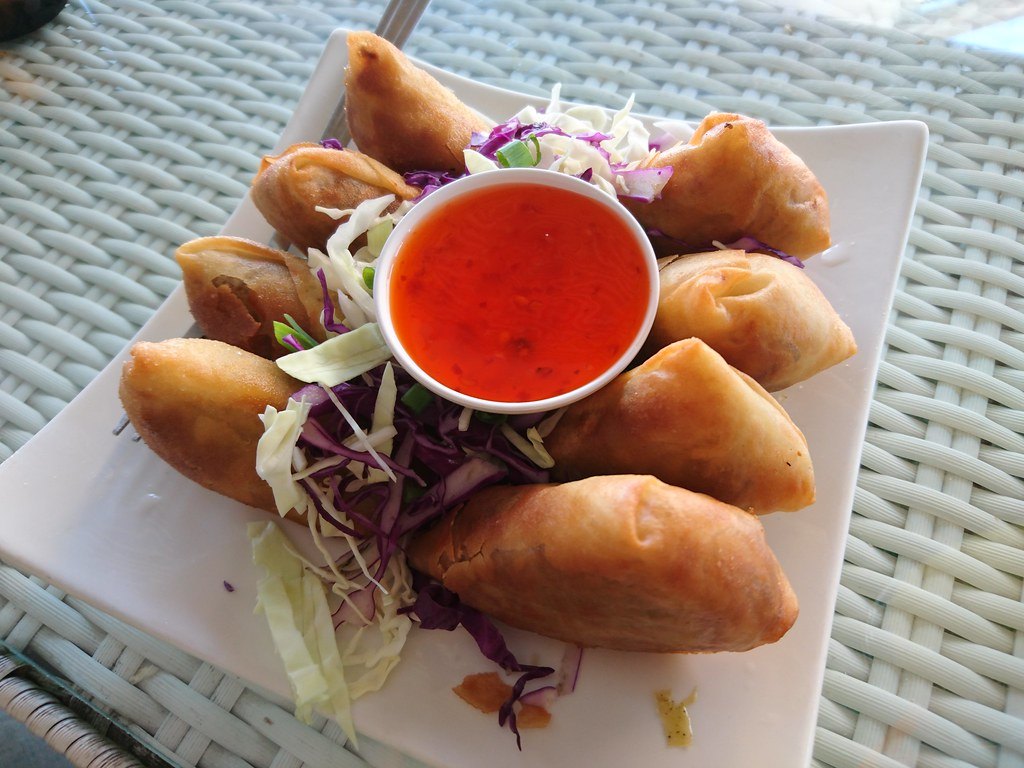 Spring rolls, Chiang Mai