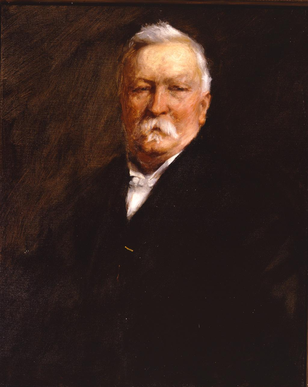 Dr Benjamin Taylor by William Merritt Chase, 1902