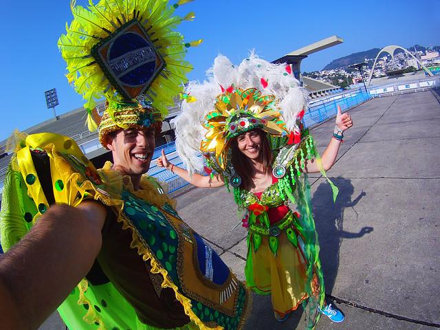 Carnaval de Brasil en Rio de Janeiro