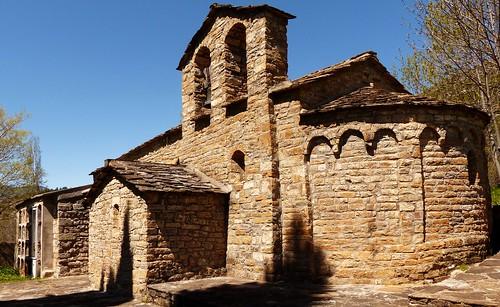 Biescas - Valle de Bardají (Huesca, Sp). Iglesia románica.