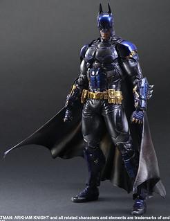 PLAY ARTS改《蝙蝠俠:阿卡漢騎士》蝙蝠俠 SDCC 限定配色