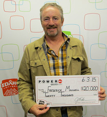 Frederick Maxwell - $20,000 Powerball