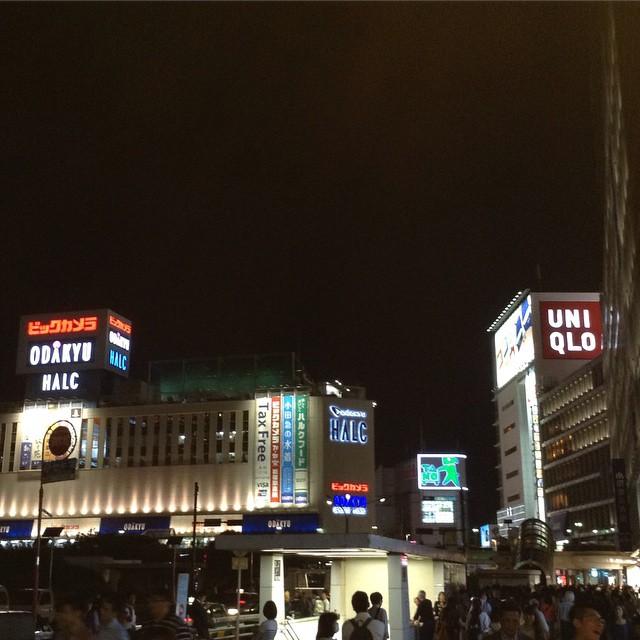 Shinjuku at night  #igdaily #instagram #instagood #like #follow #l4l #tagforlikes #love #instadaily #instalove #instalike #igph #instagramph #instagramjp #igjp #東京 #日本 #japan #tokyo #travel #igersjp #shinjuku #新宿