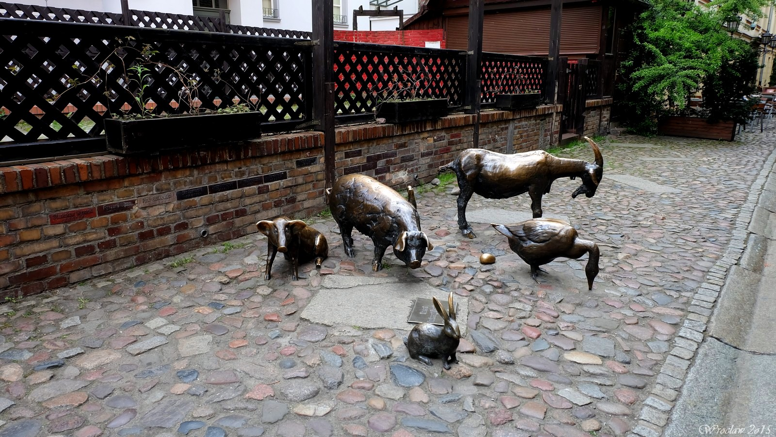 Memorial to Slaughtered Animals, Jatki, Wroclaw, Poland