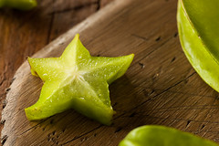 Raw Organic Star Fruit