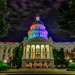 California State Capitol, tonight June 26,2015. by David A Evans