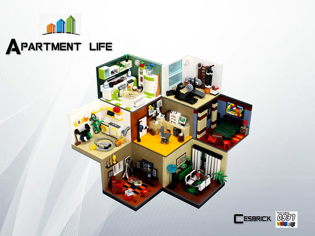 LEGO Apartment life