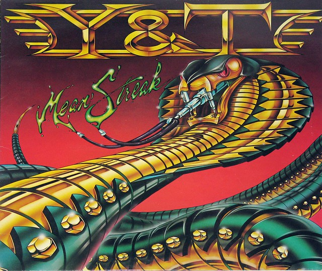 "Y&T Mean Streak 12"" Vinyl LP"