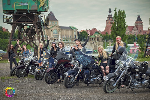 Harley-Davidson Szczecin and girls...
