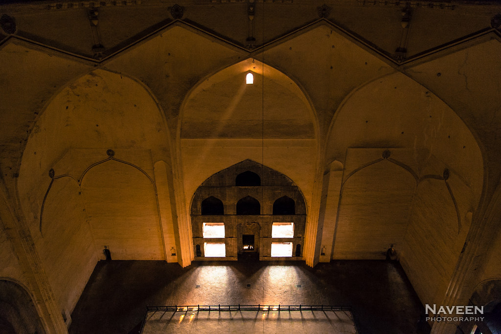 Interior of Gol Gumbaz | Bijapur, India