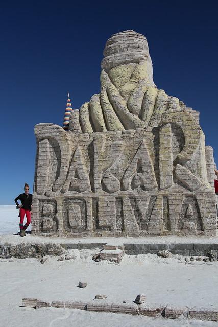 Uyuni Salt Flat.  Bolivia.