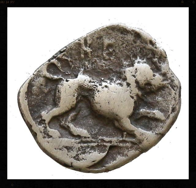 Obolo de Herakleia. Lucania 20402908751_cc007dc493_z