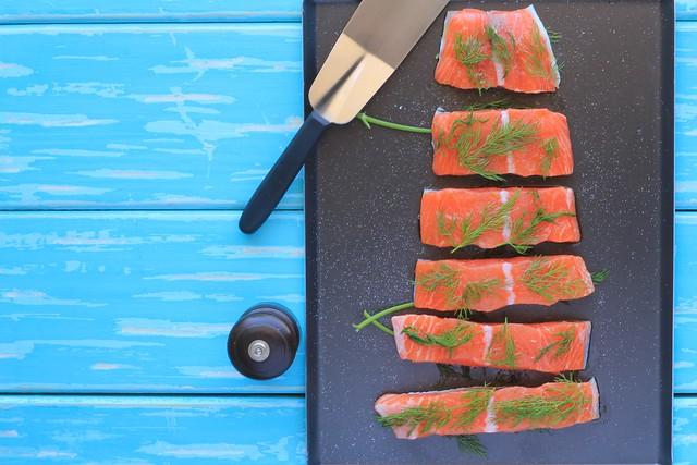 como fazer salmão assado