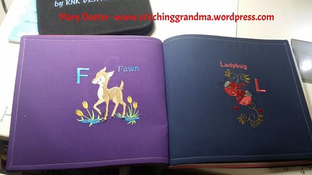 Fawn and Ladybug