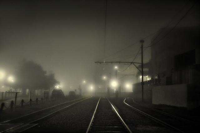 riverfront train tracks, new orleans