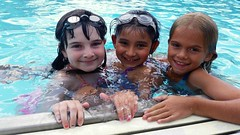 Classmates In The Pool