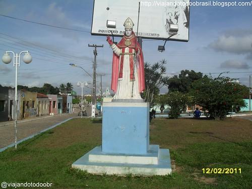 São Brás - Imagem em homenagem a São Brás