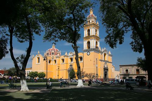 Claustro Ex convento San Gabriel Arcángel