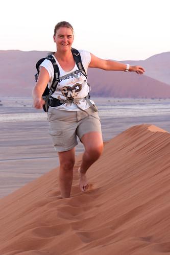 africa desert duinen dune45 dunes namibia sand sossusvlei southernafrica sunrise woestijn zand zonsopkomst hardapregion namibië