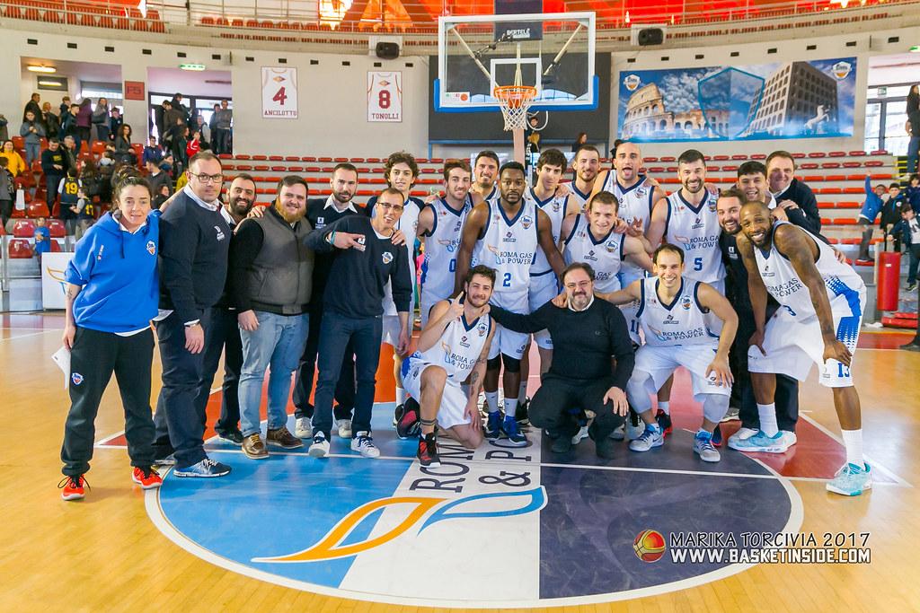 Esultanza Eurobasket Roma