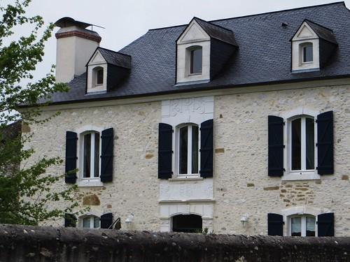 Ferme béarnaise, Arros-de-Nay, Béarn, Pyrénées-Atlantiques, Aquitaine, France.