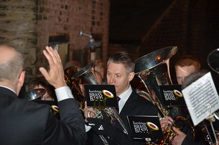 KOncentrerad solohornist i Denshaw