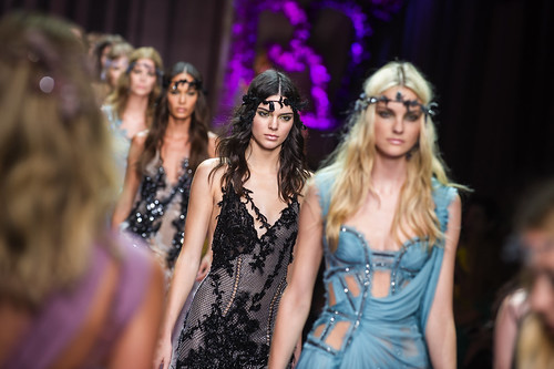 Versace Kicks off Fall 2015 Season of Haute Couture Week in Paris