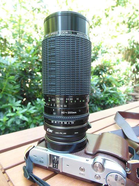 Sigma High Speed Zoom l ( lambda ) 80/200mm MC f3.5/22