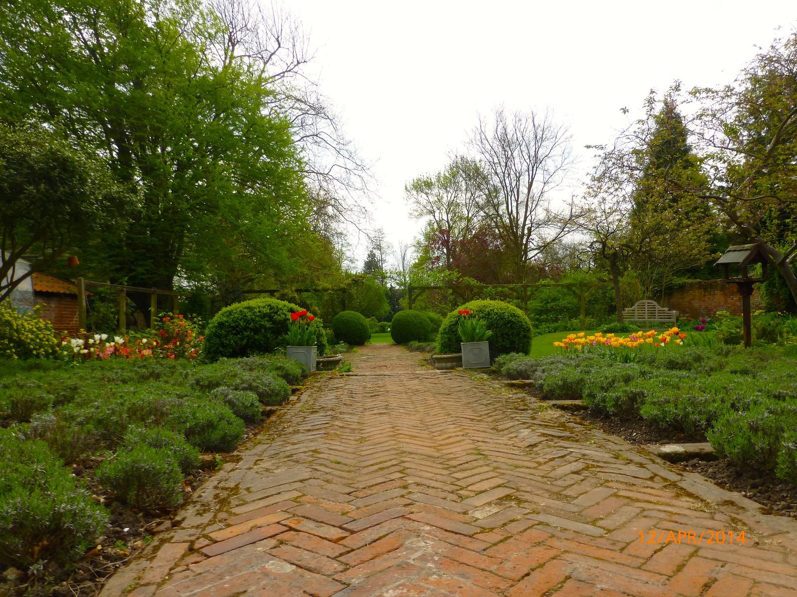 Garden of Paycocke's, Coggeshall SWC Walk 216 Kelvedon Circular
