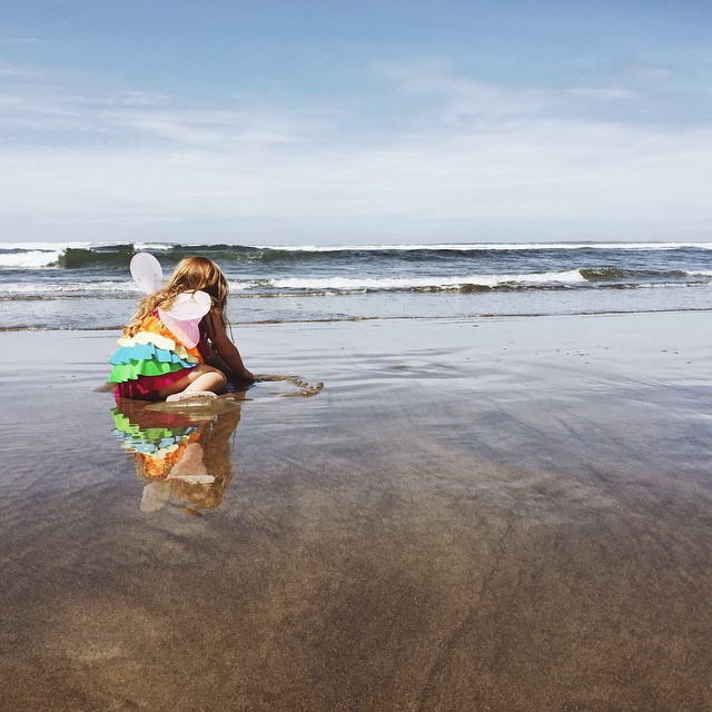 Even Mermaid Fairies go to the beach #100DaysofSummer2015