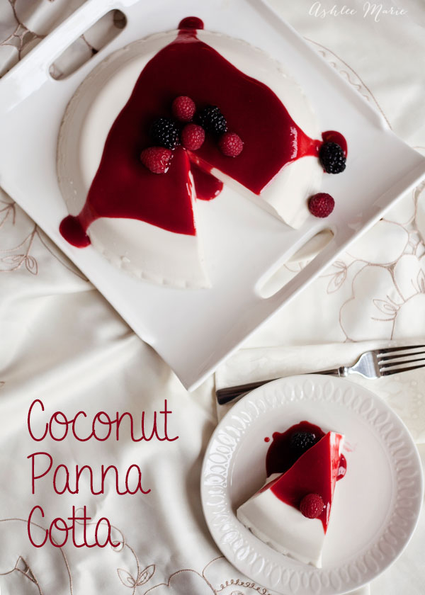 This Coconut Panna Cotta is not only beautiful, but it is divine. Easy to make with a subtle flavor and amazing texture it is a hit with everyone who tries it